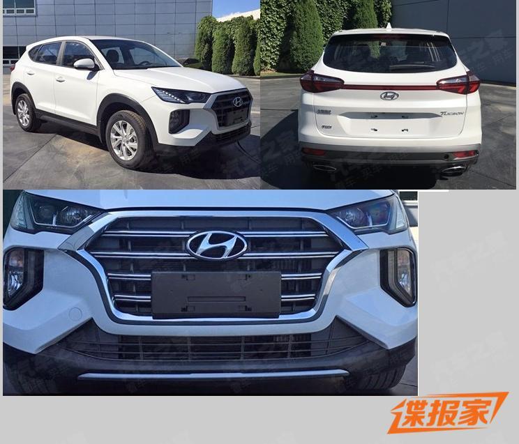 北京现代 新款途胜 外观变化明显/设计风格更激进   北京现代新款途胜