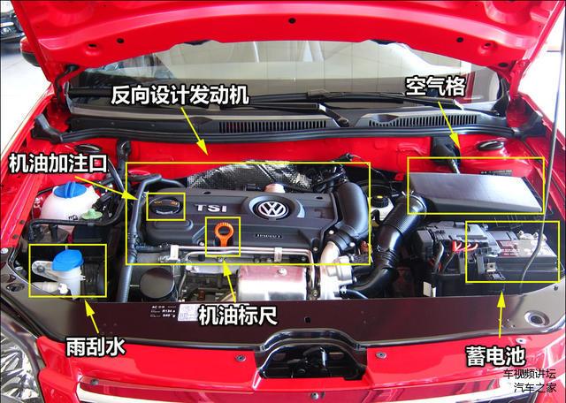 汽车发动机舱,丰田发动机