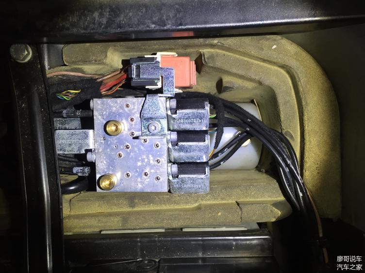 硬顶敞篷液压电动泵表面霉斑