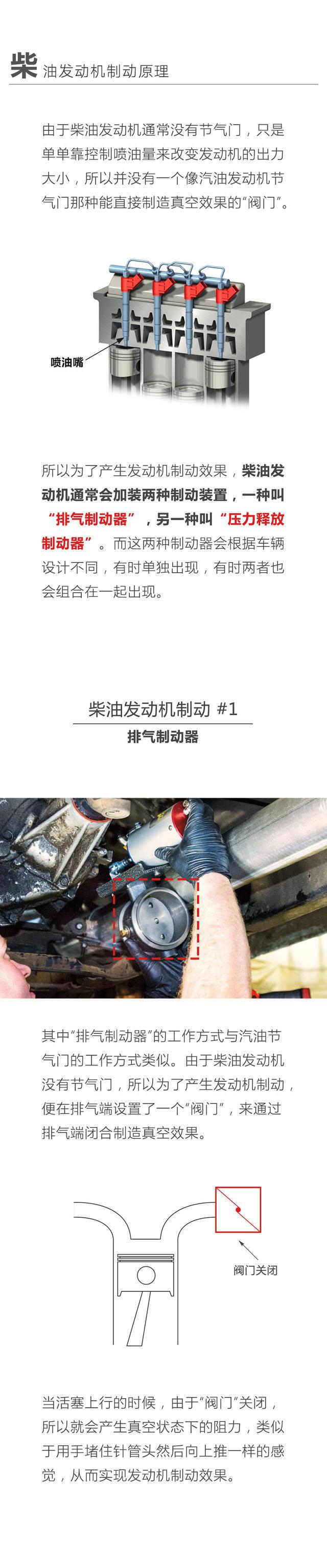 发动机制动原理,汽车发动机