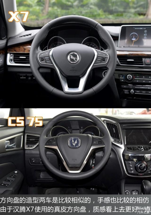 75 全新自主SUV汉腾X7来袭