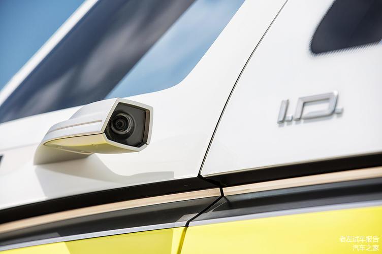 概念车的后视镜使用摄像头