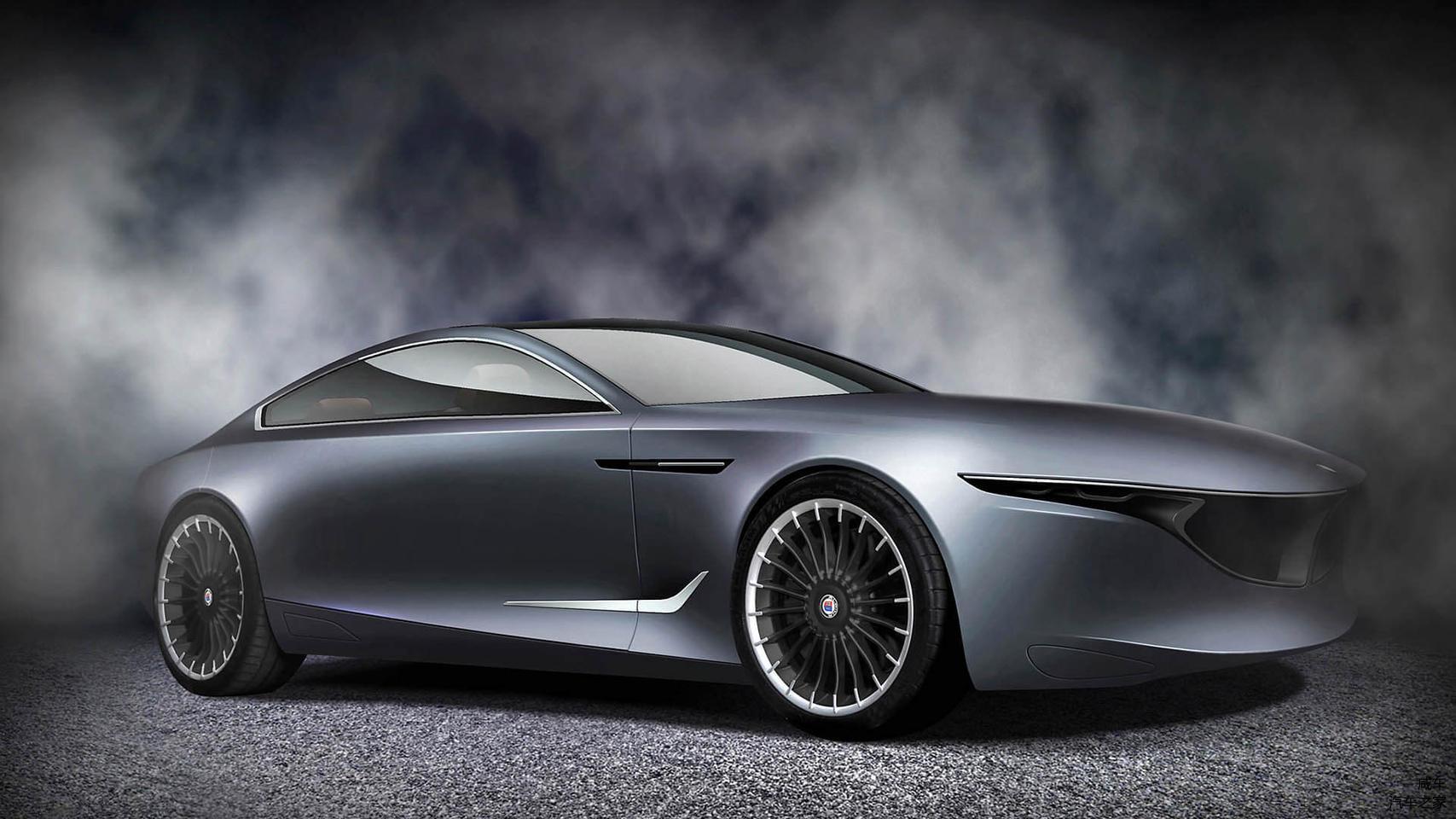 宝马粉丝甚至绘制了概念车图,和新款宝马8系有异曲同工之妙.