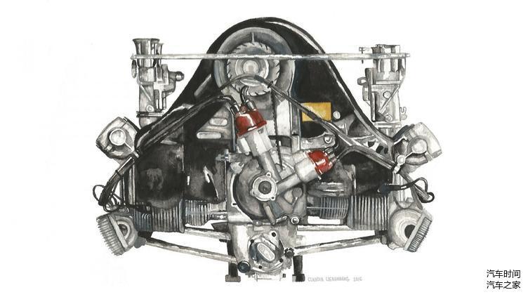 保时捷的水平对置发动机究竟好在哪里?