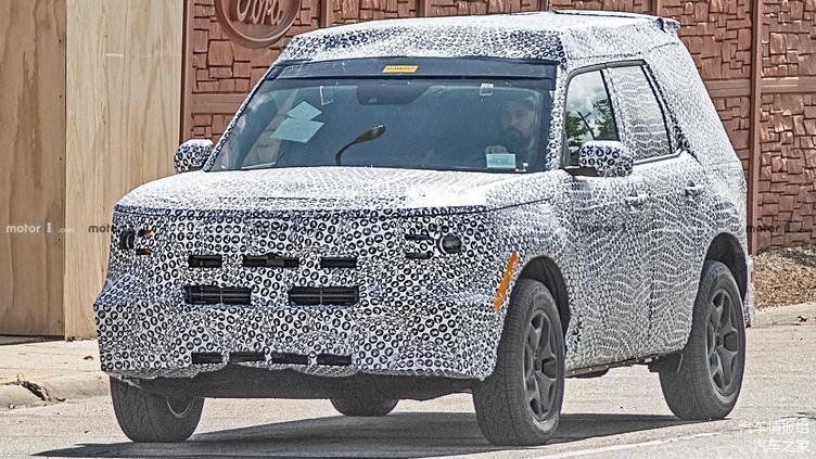 而Baby Bronco就是它,全新一代Bronco车系的最小尺寸车型