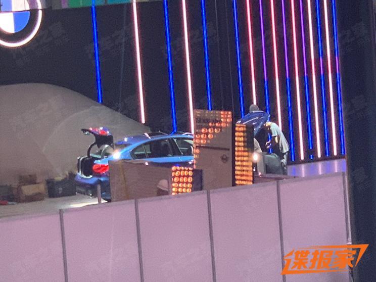 【图】2020北京车展探馆:疑似宝马1系 曜夜版