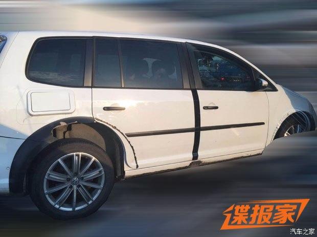 明年12月上市 一汽-大众新SUV骡车谍照