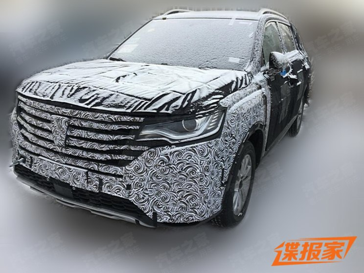 荣威全新五座SUV荣威MAX上海车展将发布
