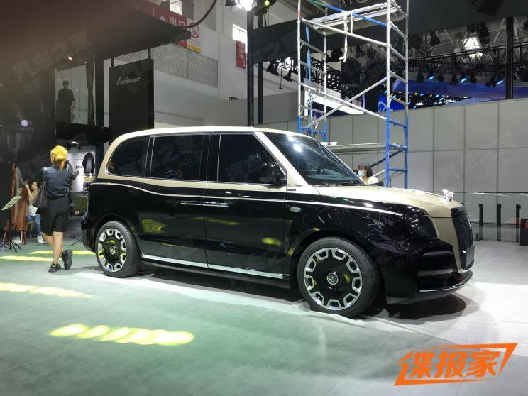 【图】2020北京车展探馆: LEVC LX实车曝光