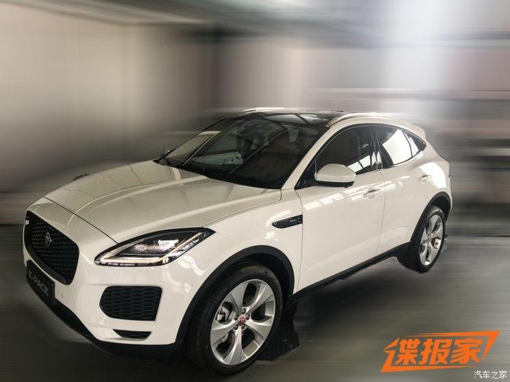 北京车展新澳门葡京国际娱乐 国产捷豹E-PACE实车谍照