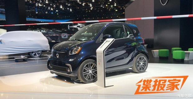 2018北美车展探馆:smart fortwo特别版