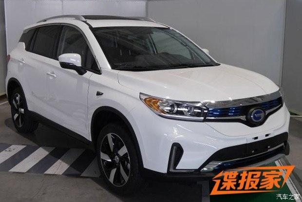 GS4穿新衣 广汽丰田ix4 EV北京车展亮相
