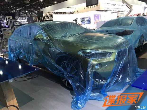2018北美车展探馆:宝马X2实车曝光