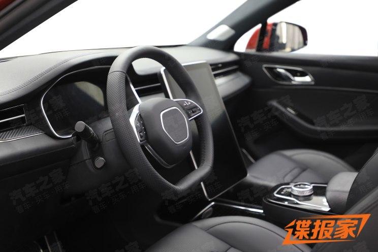 内饰简洁硬朗风 曝金菓EV首款SUV谍照