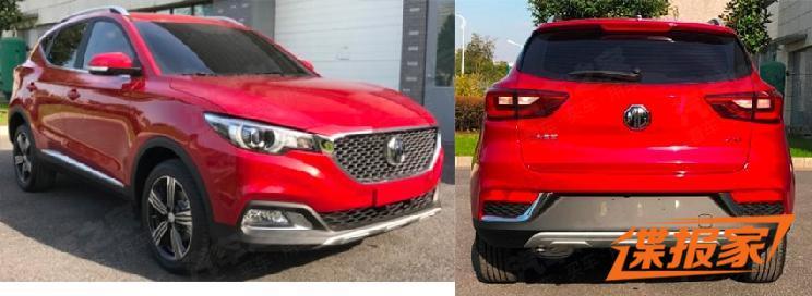 新增1.3T发动机 名爵ZS新增车型申报图