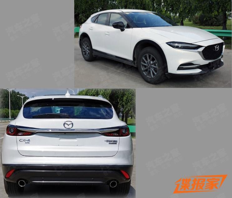 新家族設計語言 新款馬自達CX-4申報圖