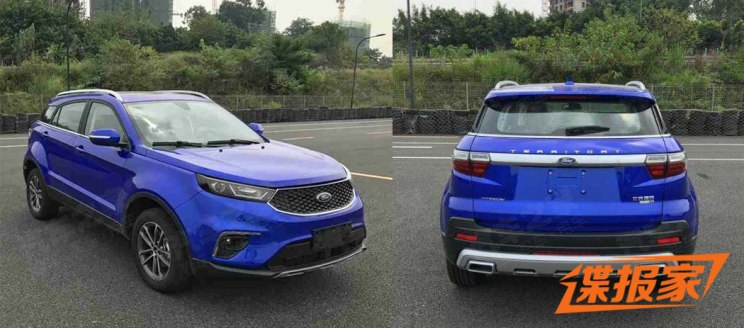 紧凑型SUV 江铃福特Territory申报信息
