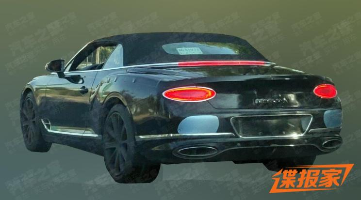 新一代宾利欧陆GT敞篷版11月27日首发