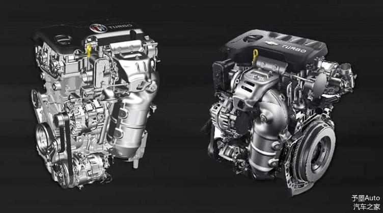 ▲ 通用1.0T/1.3T 全新一代Ecotec增压发动机