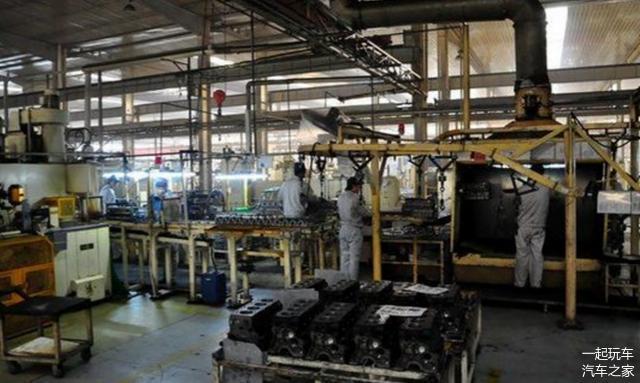 发动机生产工厂