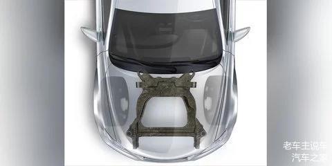 福特碳纤维副车架,碳纤维车架