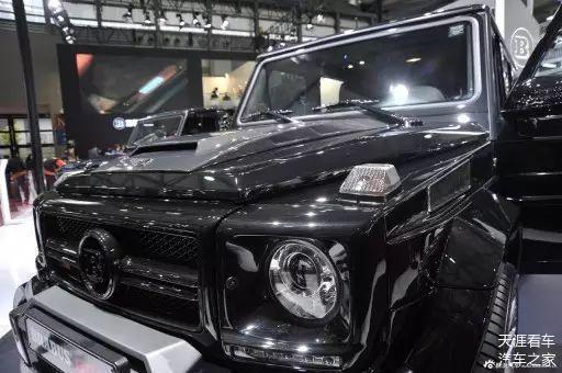 奔驰巴博斯G800  800匹马力的怪兽