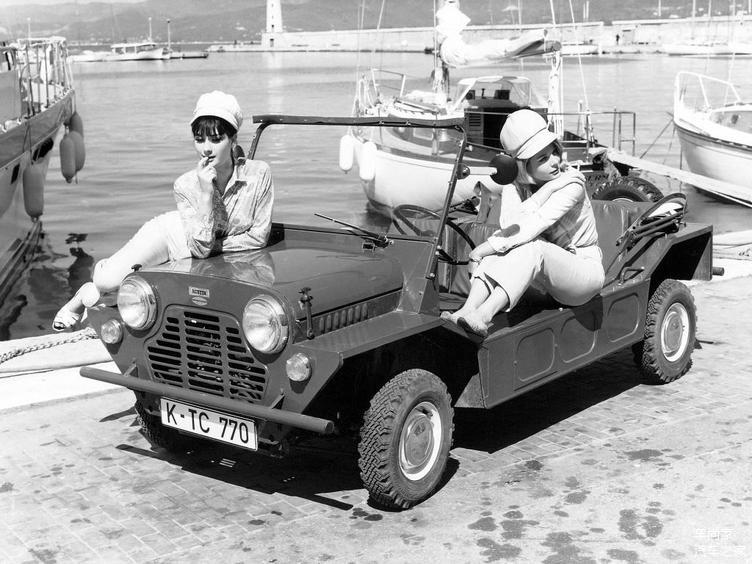 Mini在1964年推出的越野版——Mini Moke