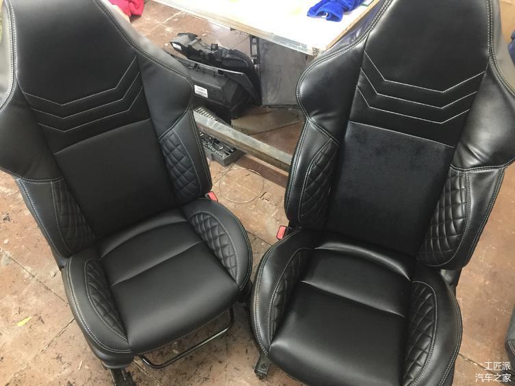 给大家看看新座椅的样子